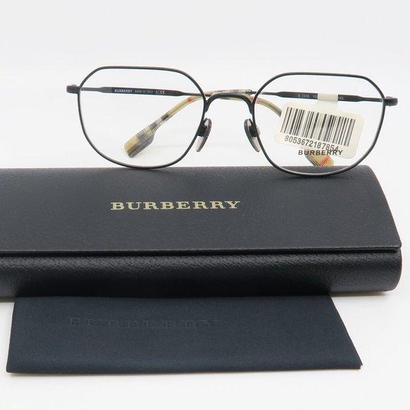 B 1335 1007 Burberry Matte Black Eyeglasses